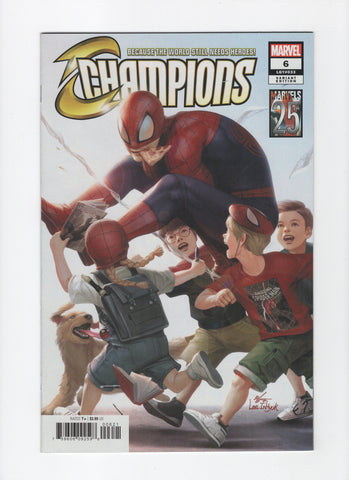 Champions #6 (3rd Series, 2019) 25th Tribute Variant - NM-