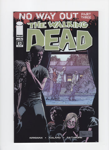 Walking Dead #82 VF+