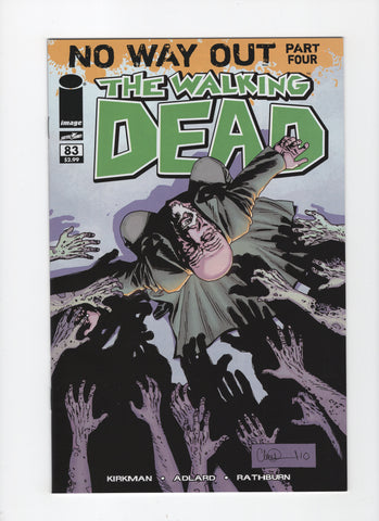 Walking Dead #83 VF+