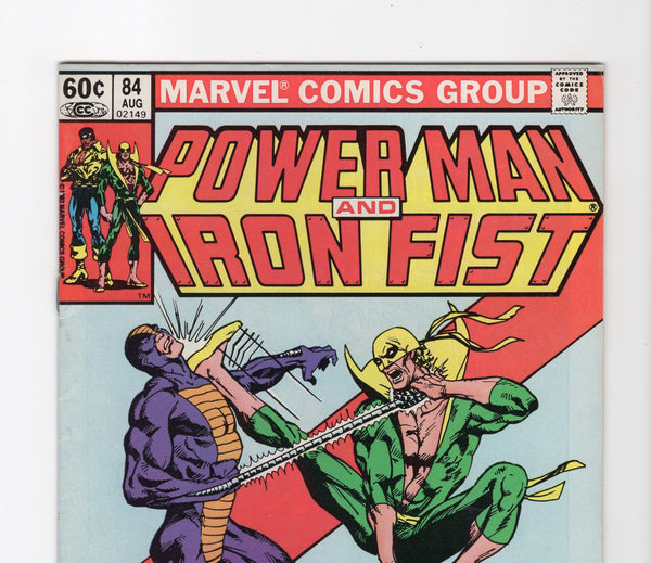 Power Man and Iron Fist #84 FN/VF - Rediscover Geek