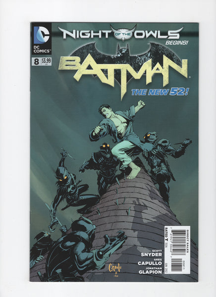 Batman #8 (2nd Series, 2011) VF