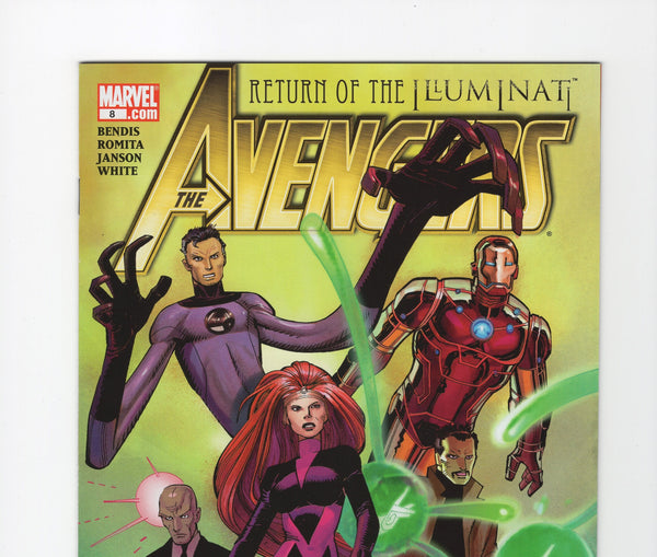 Avengers #8 (4th Series, 2010) VF