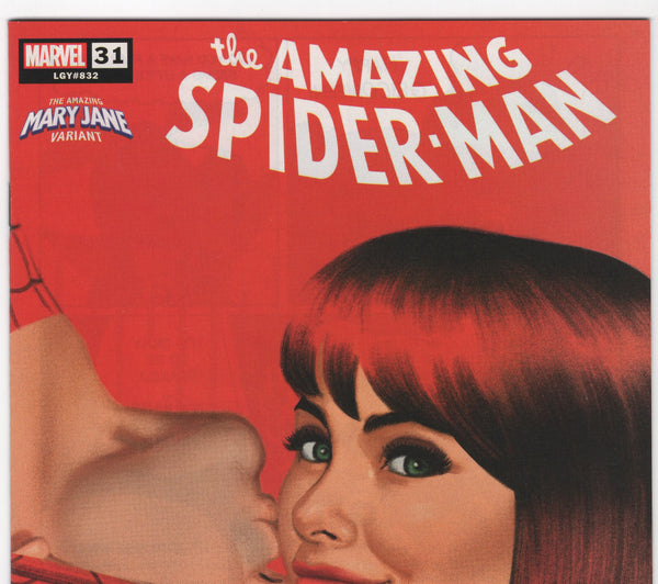 Amazing Spider-Man #31 (6th Series - 2018) NM - Smallwood Mary Jane Variant - Rediscover Geek