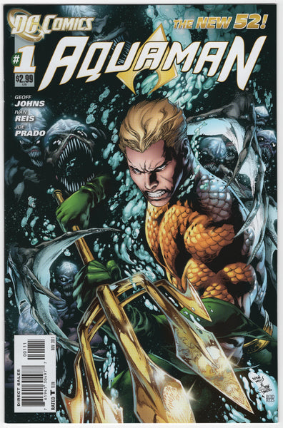 Aquaman #1 New 52 NM