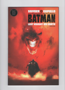 Batman: Last Knight on Earth #1 - Jock Variant - NM - Rediscover Geek