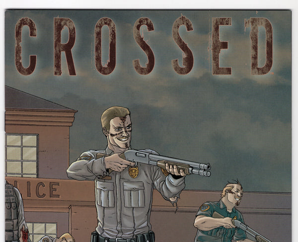Crossed #4 - Wraparound Cover - VF - Rediscover Geek