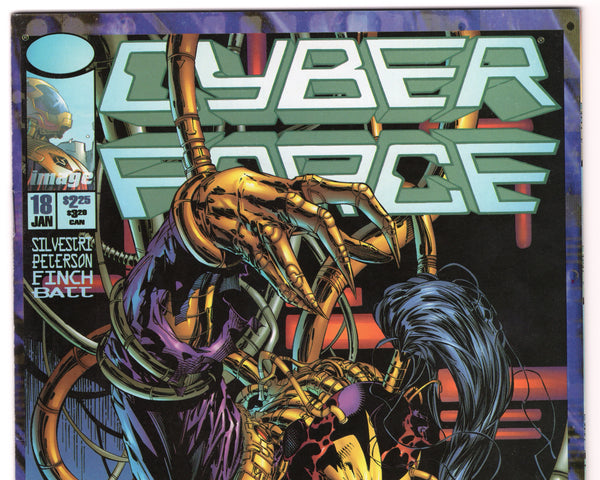 Cyberforce #18 (2nd Series, 1993) VF- - Rediscover Geek