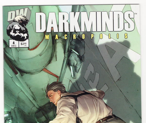 Darkminds: Macropolis #4 NM- - Rediscover Geek