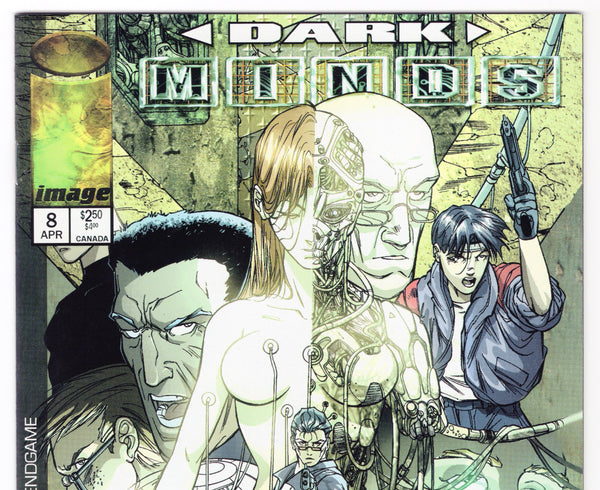 Darkminds #8 NM- - Rediscover Geek