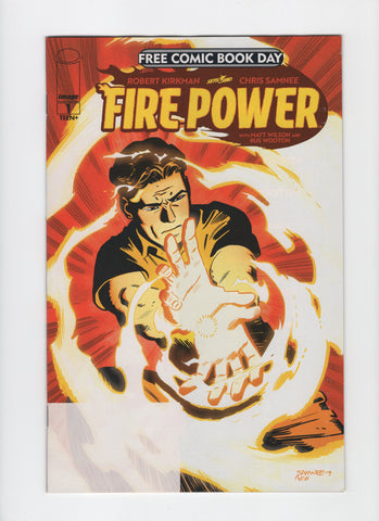 Fire Power #1 - FCBD - VF/NM - Rediscover Geek