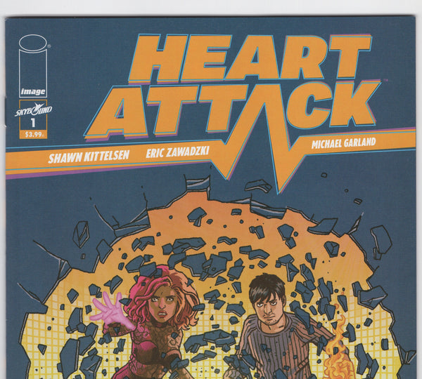Heart Attack #1 NM - Rediscover Geek