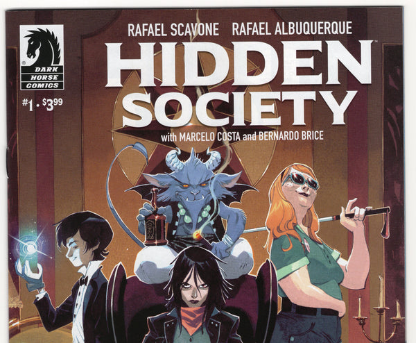 Hidden Society #1 NM- - Rediscover Geek