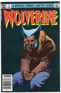 Wolverine: Limited Series #3 - Newsstand - VF-