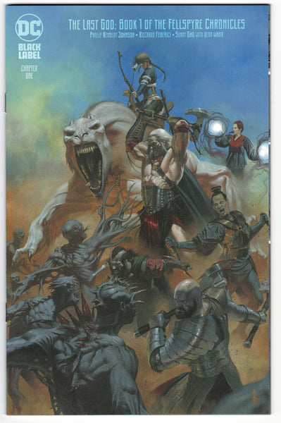 The Last God #1 - Riccardo Federici Variant - NM - Rediscover Geek