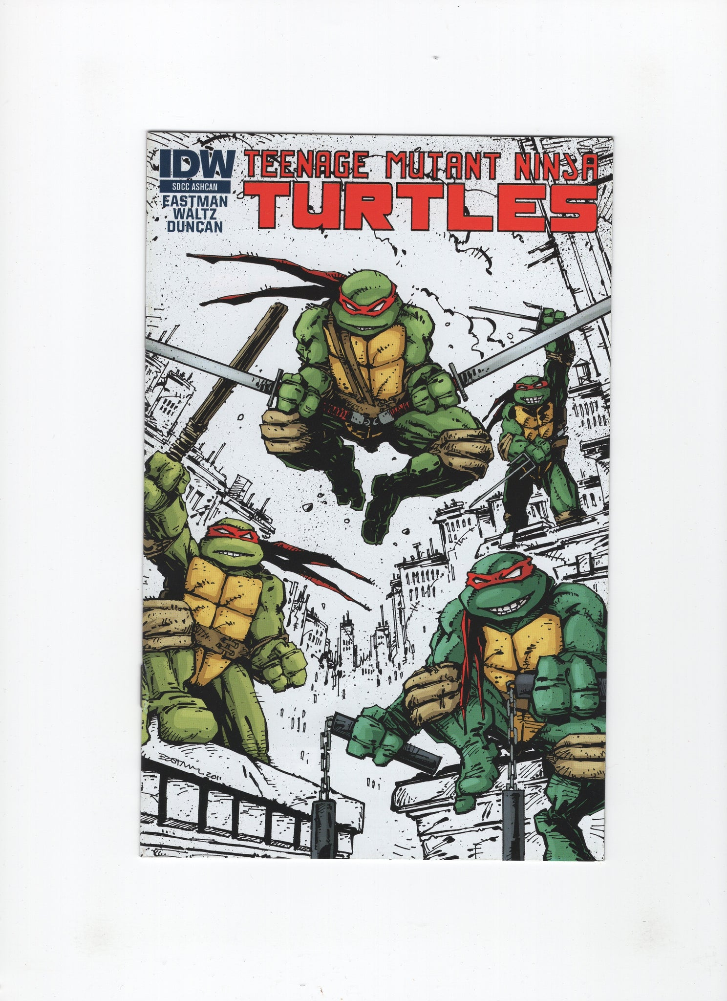 Teenage Mutant Ninja Turtles - SDCC Ashcan (2011, IDW) VF-