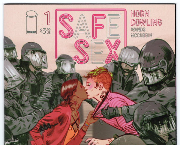 SFSX: Safe Sex #1 NM - Rediscover Geek