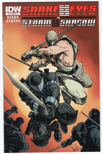 Snake Eyes and Storm Shadow #13 - CVR RIA - NM