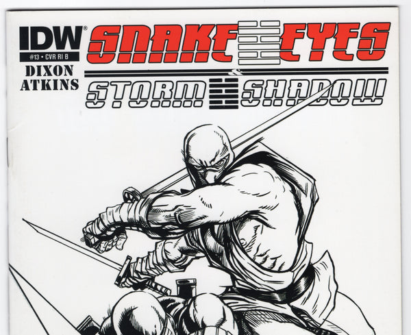 Snake Eyes and Storm Shadow #13RI B - VF - Rediscover Geek