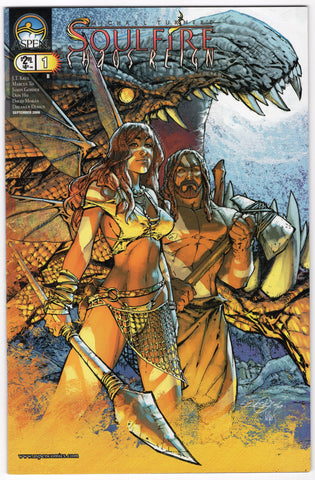 Michael Turner's Soulfire: Chaos Reign _1B VF - Rediscover Geek