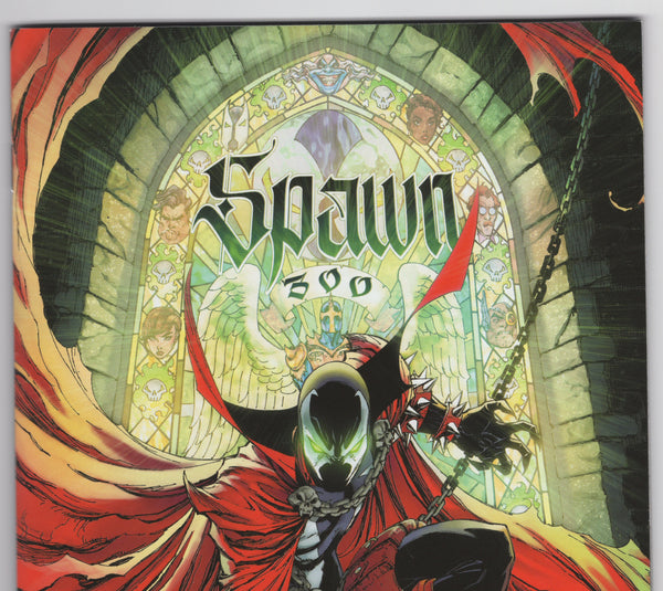 Spawn #300G - J. Scott Campbell Variant - NM- - Rediscover Geek