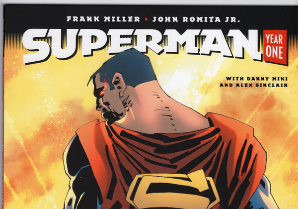 Superman: Year One #1 - Frank Miller Variant - NM - Rediscover Geek