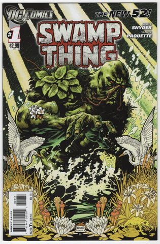Swamp Thing #1 New 52 VF+ 1st