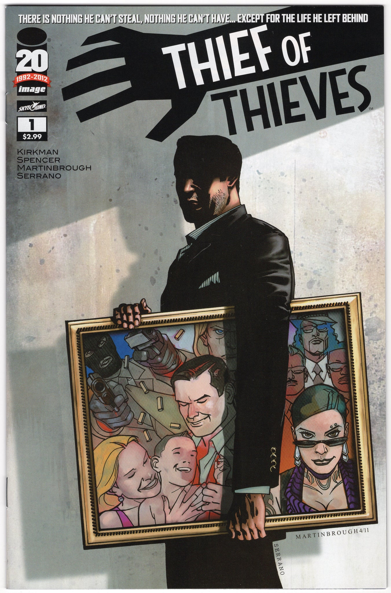 Thief of Thieves #1 NM- - Rediscover Geek