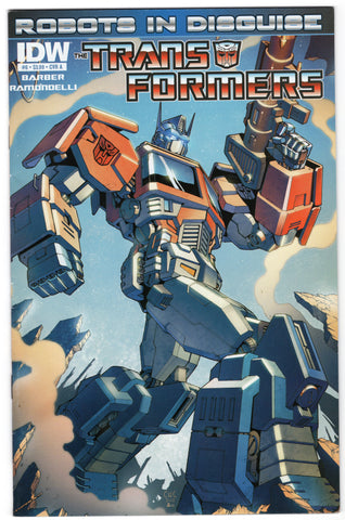 Transformers: Roberts in Disguise #6 (2012) VF- - Rediscover Geek
