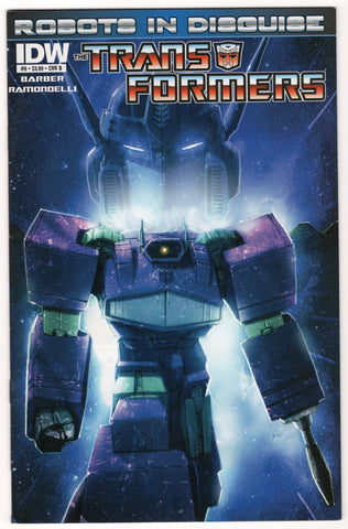 Transformers: Robots in Disguise #6B - VF- - Rediscover Geek
