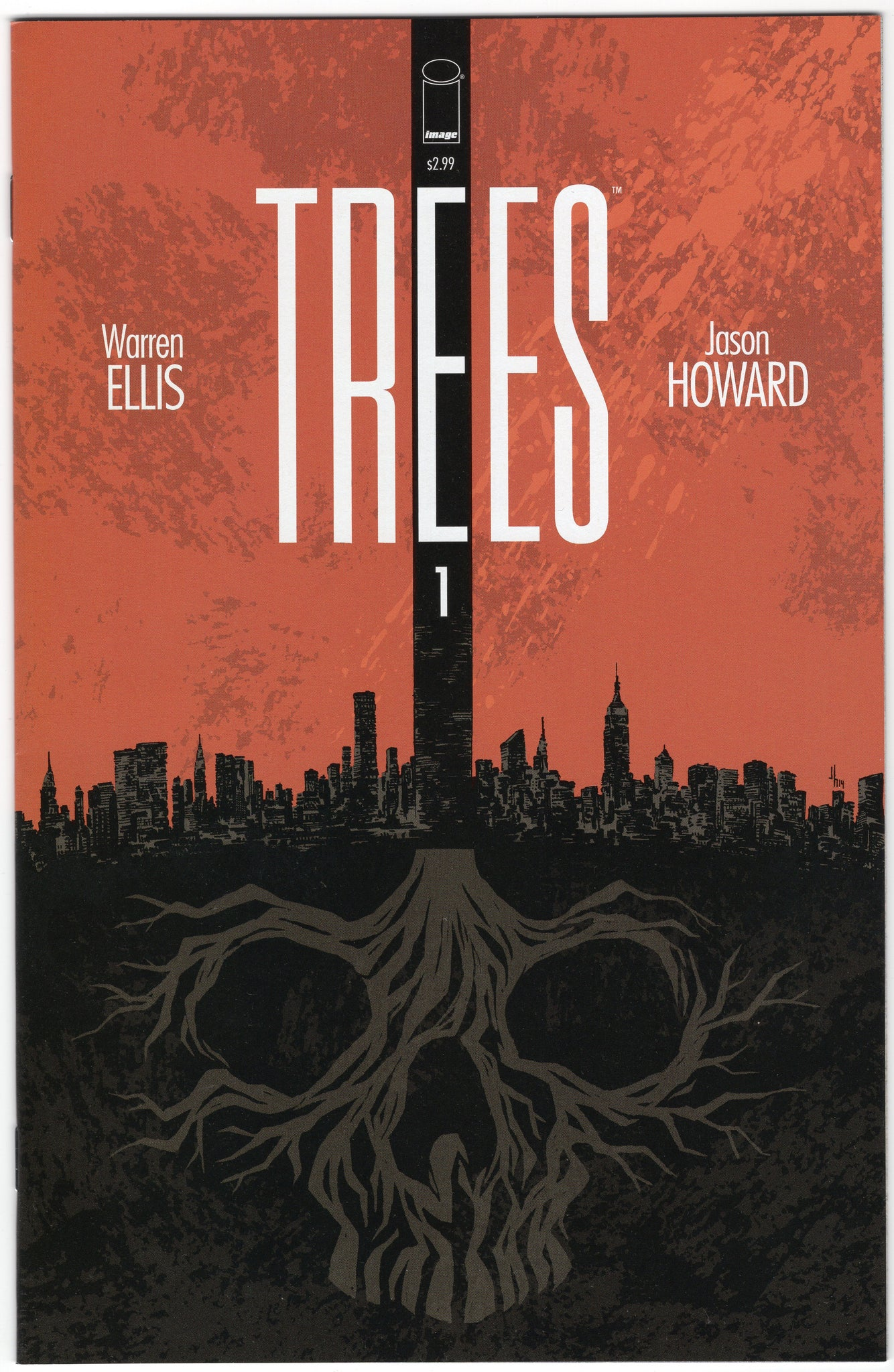Trees #1 NM First Print