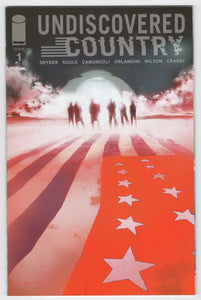 Undiscovered Country #1B - Jock Variant - NM-