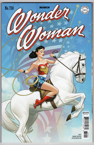 Wonder Woman #750 (5th Series, 2016) Joshua Middleton 1940's Variant- NM- - Rediscover Geek