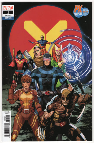 X-Men #1 (4th Series, 2019) NYCC Variant - NM-