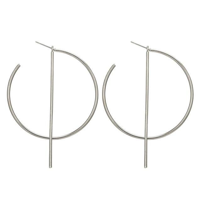 Alex Big Hoop Earrings - Yesines.com
