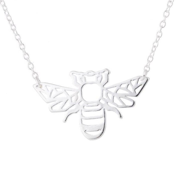 Bumble Bee Pendant Necklace - Yesines.com