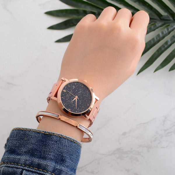 Constellations Rose Gold Wristwatch - Yesines.com