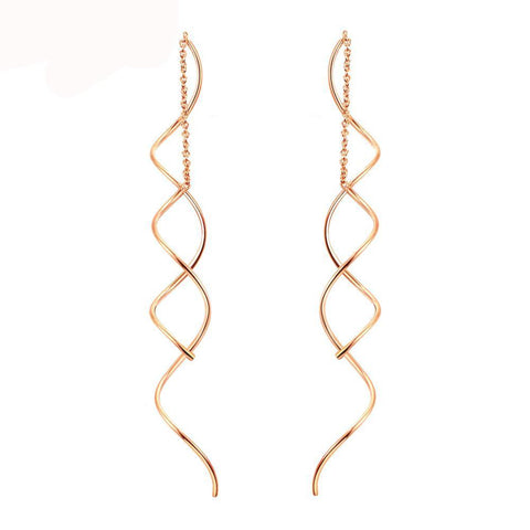 Ella Spiral Earrings - Yesines.com