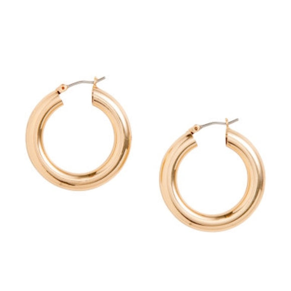 Peta Small Hoop Earrings
