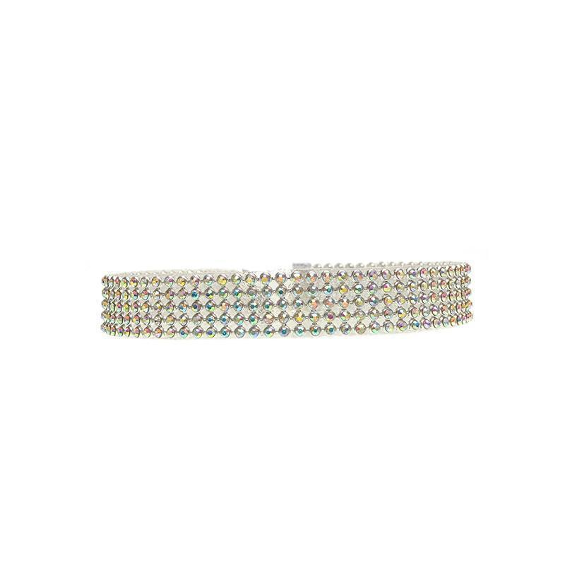 Hailey Rhinestone Choker Necklace - Yesines.com