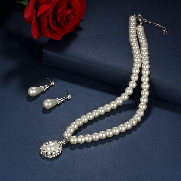 Isabel Pearl Jewelry Set - Yesines.com