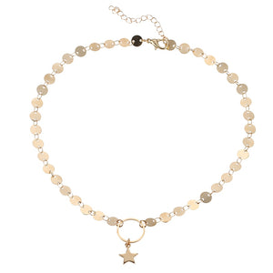 Calliope Star Choker Necklace