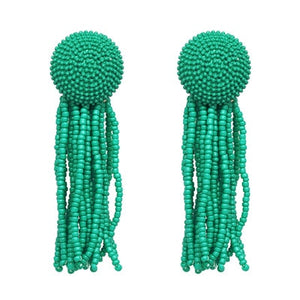Anahi Colorful Tassel Earrings