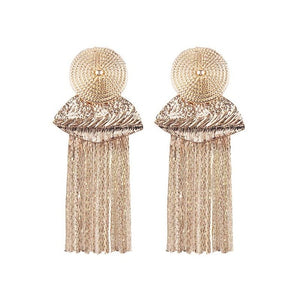 Marguerite Gold Earrings
