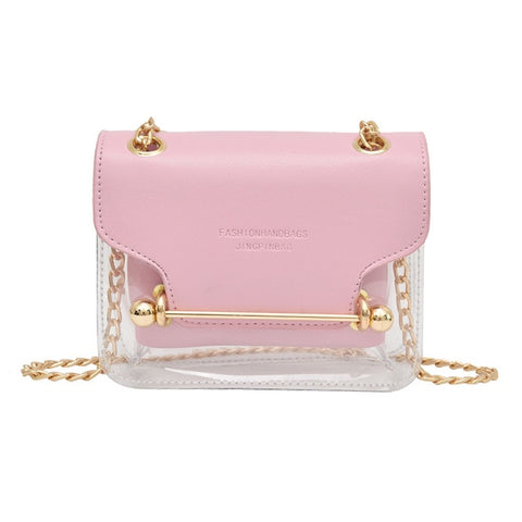 Small Bag With Transparent Detail