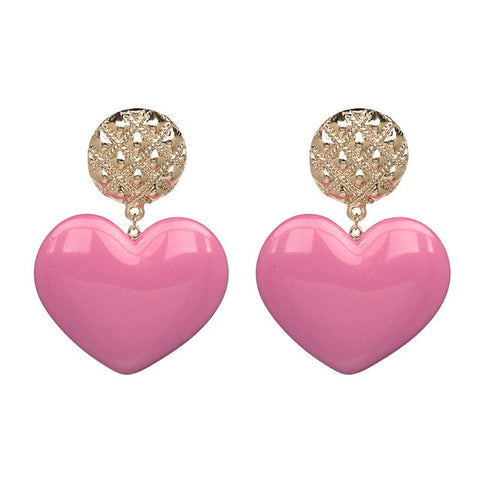 Harmonia Heart Earrings