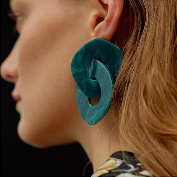 Uri Statement Earrings