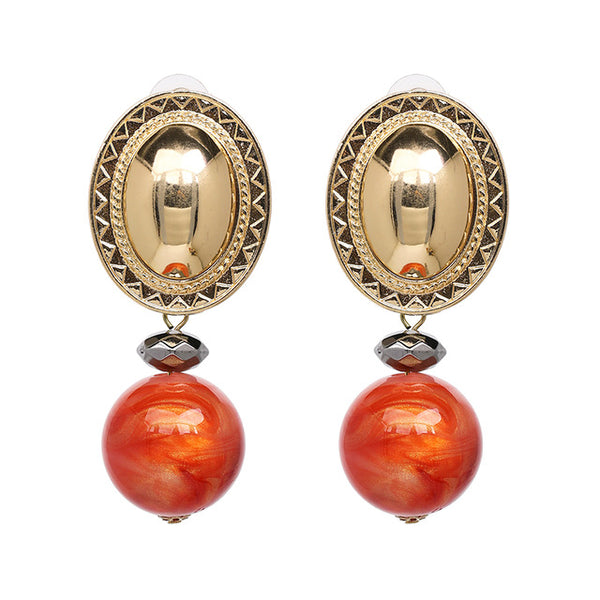Athena Pearl Statement Earrings
