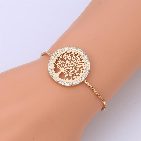 Tree of Life Adjustable Bracelet - Yesines.com