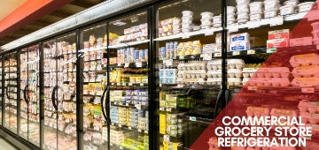 Commercial Grocery Store Refrigeration