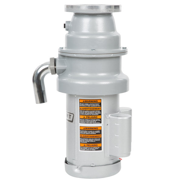 Hobart Commercial Garbage Disposer With Long Upper Housing - 1 1/4 Hp, 120/208-240V Fd4/125-4